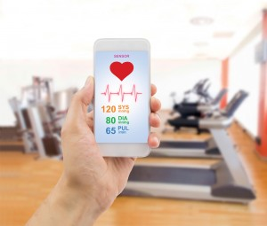 controlling my exercise with a smartphone app