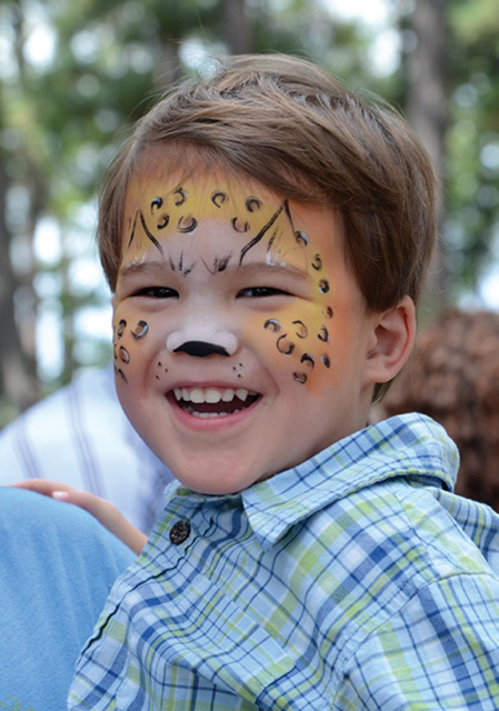 *WB.Calendar.WEllsFEst face painting boy
